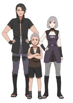 Hidan and his parents