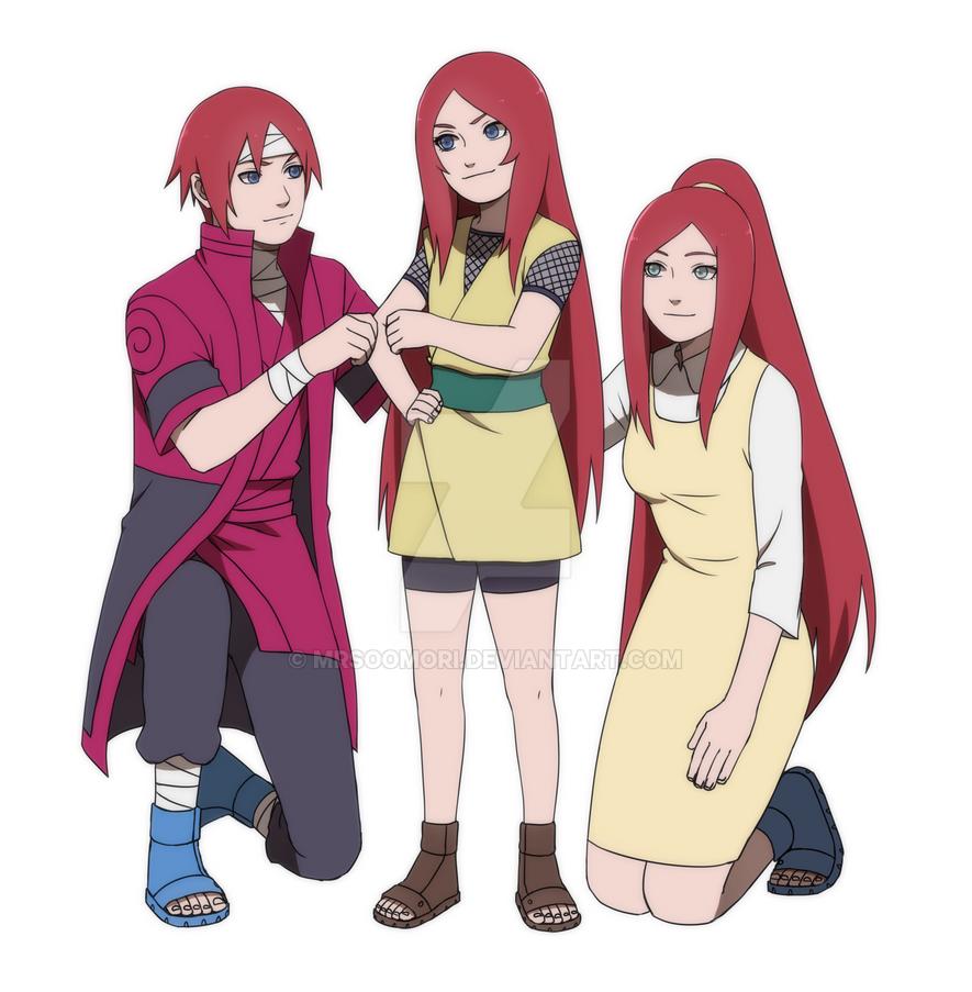 kushina s family by rarity princess on deviantart