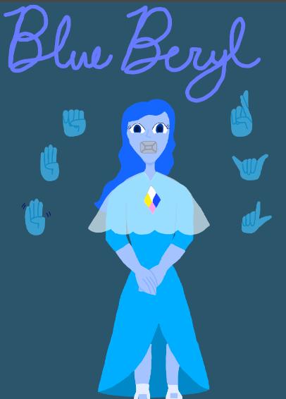 A gem: Blue Beryl