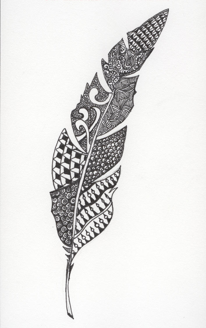 Sharpie Peacock Coloring Page