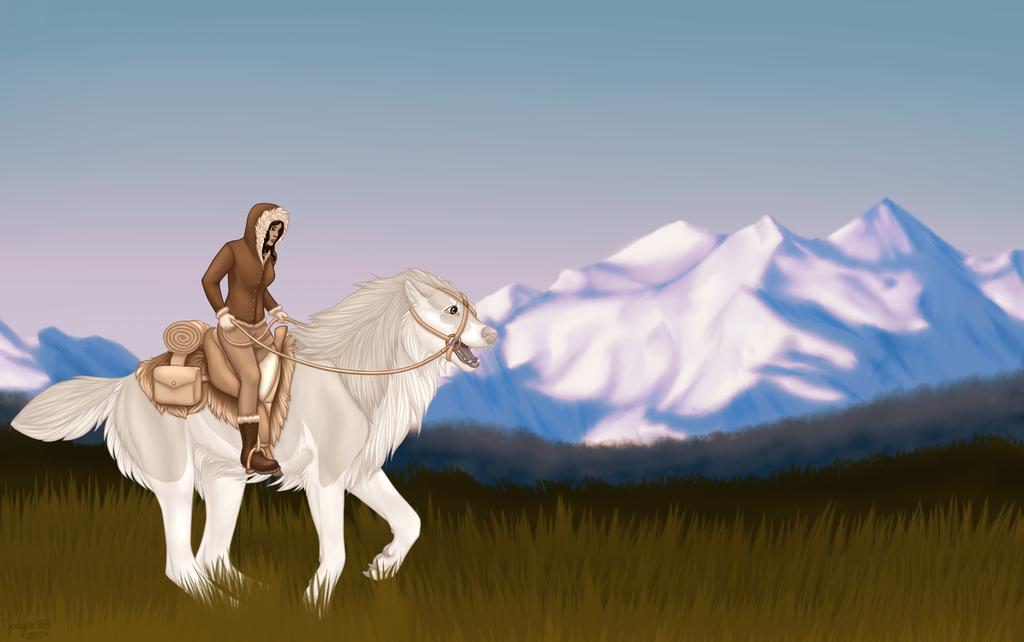 Saga and Raia by Cougar28