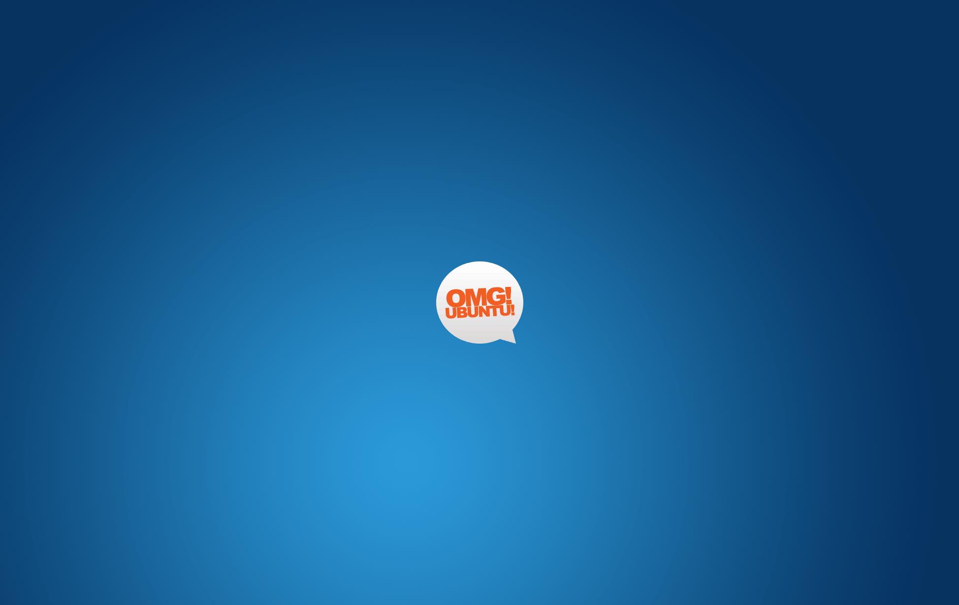 OMG Ubuntu Wallpaper Blue by d0od on DeviantArt