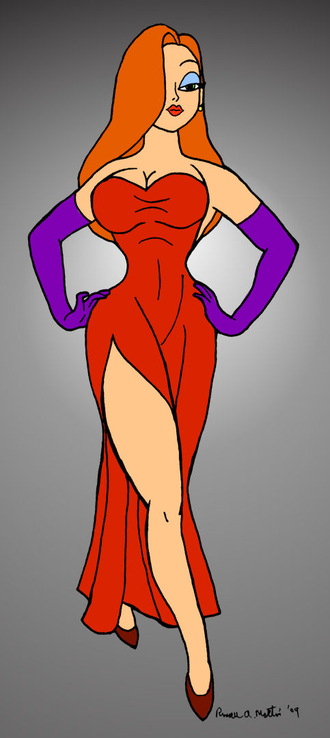 Jessica Rabbit by rmartin2819