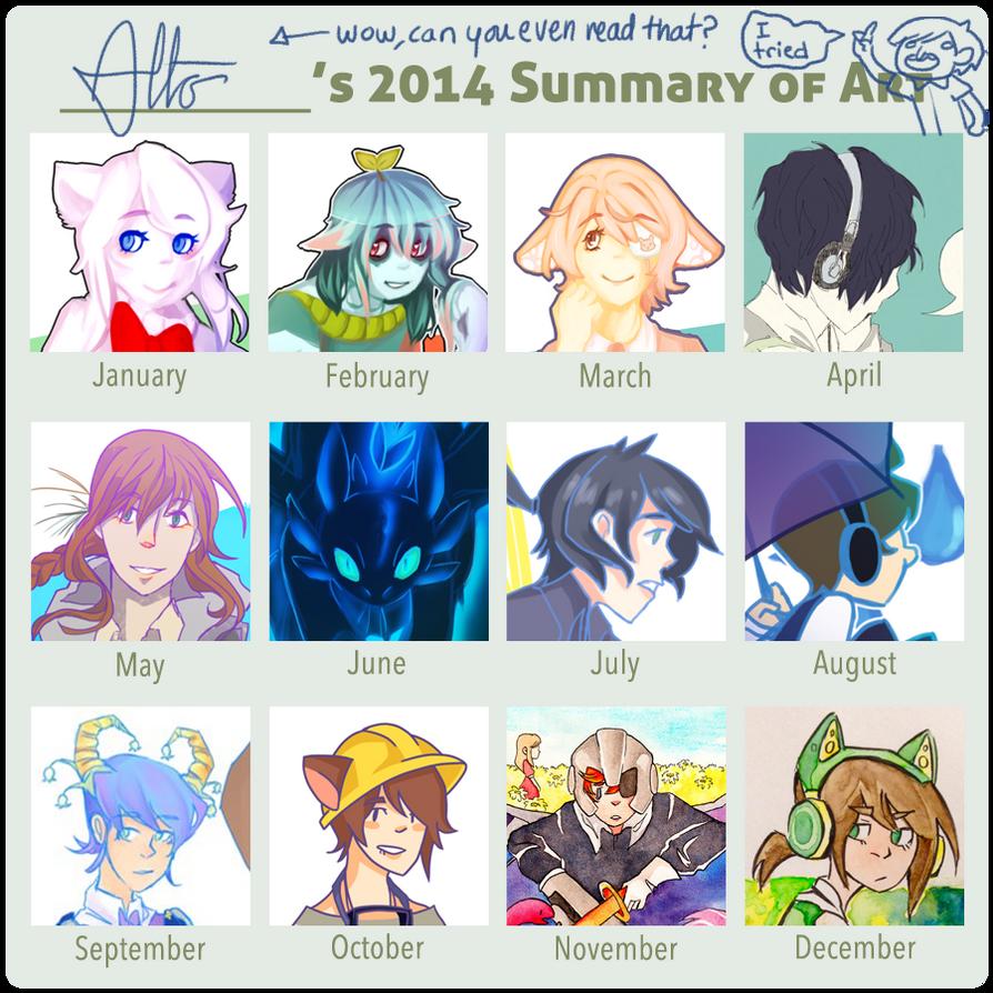 2014 Summary of Art by Arashi-Penguin