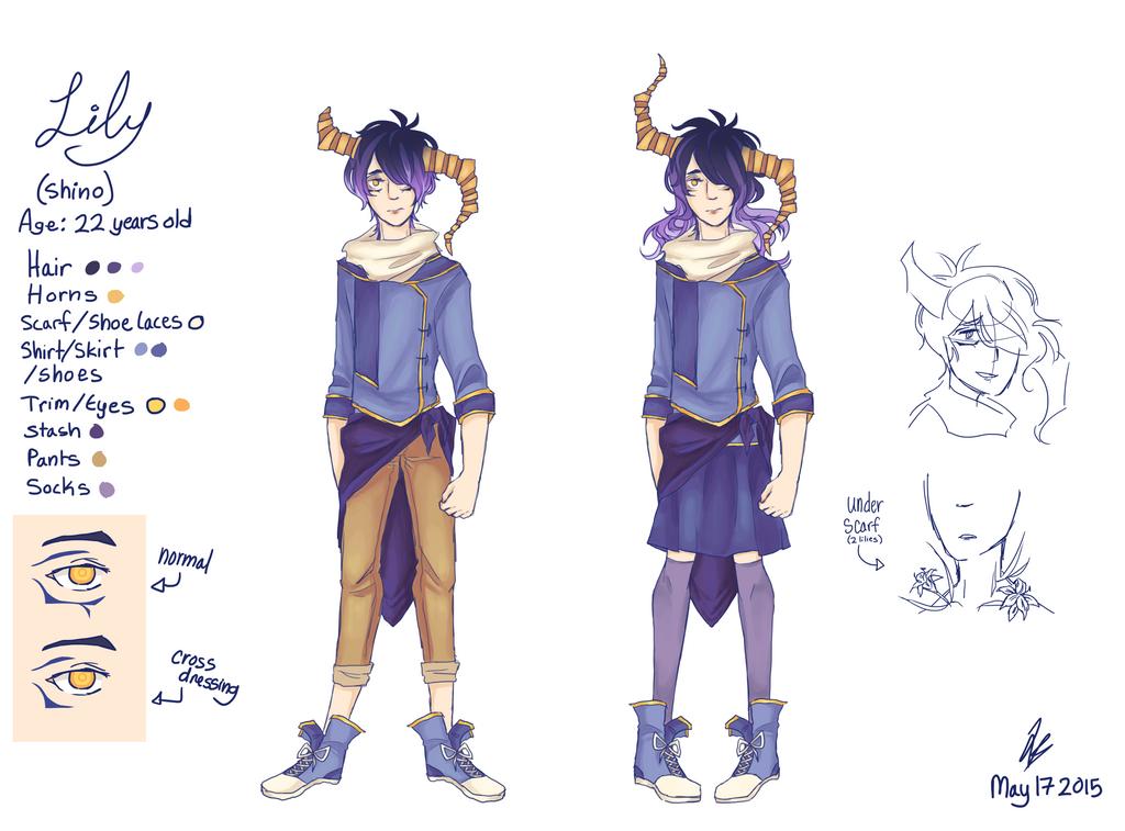 Lily Reference by Arashi-Penguin