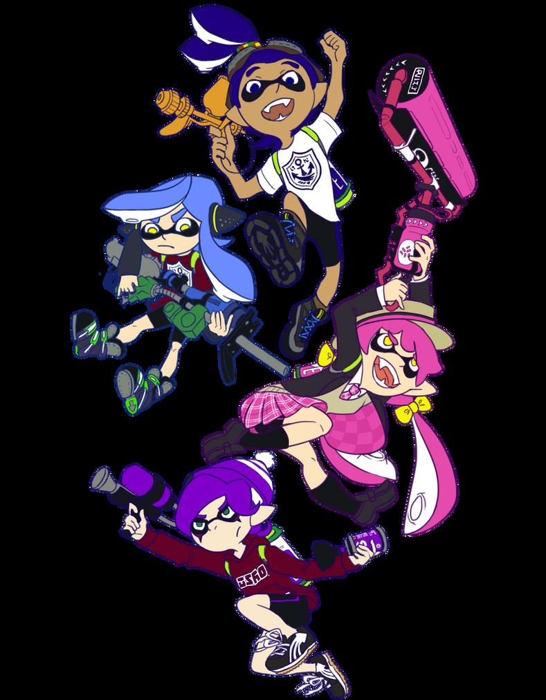 Squad by Arashi-Penguin