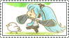 Stamp - Hato -Dove- by Emiliers