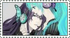 Stamp - Vocaloid: Gakupo+Miku by Emiliers