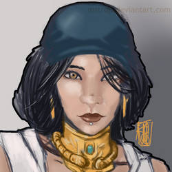 [Requested] Isabela, Dragon Age by mstrdp