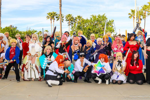 Fate Cosplay Gathering at ALA 2018 by chaosnorder