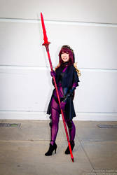 Scathach (Mintyfox Cosplay) by chaosnorder