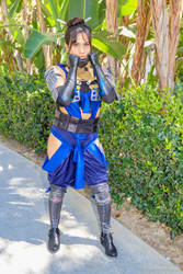 Kitana (Cassassins Creed Cosplay) by chaosnorder