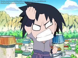Chibi Sasuke Taka  is angry xD by okamiuchiha1217