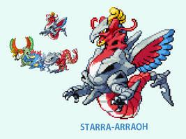 2nd Gen Team Fusion: STARRA-ARRAOH by BurntOutPixel