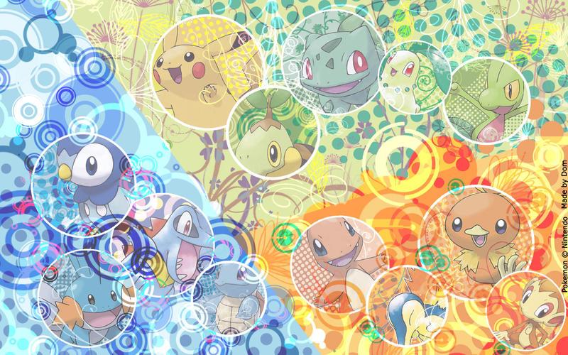 Pokemon Wallpaper By Dom90nic On Deviantart