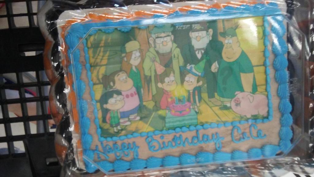 My birthday cake!! by Somniphob1c