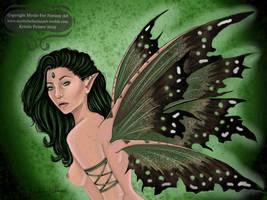 Green Fairy by MysticFaeFantasyArt
