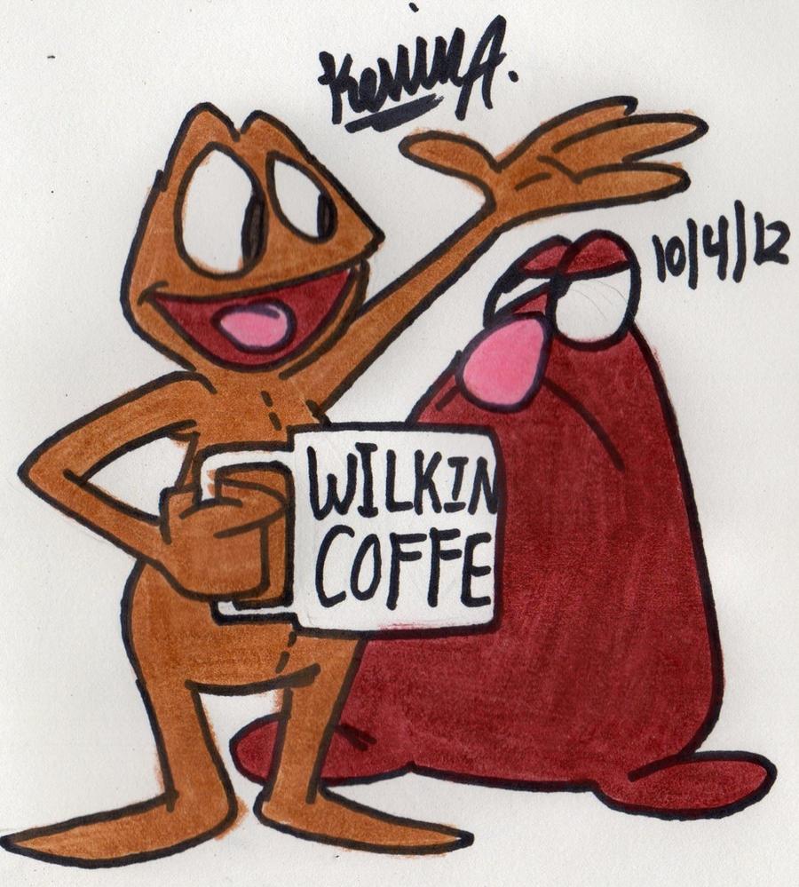 Wilkins and Wontkins by EeyorbStudios