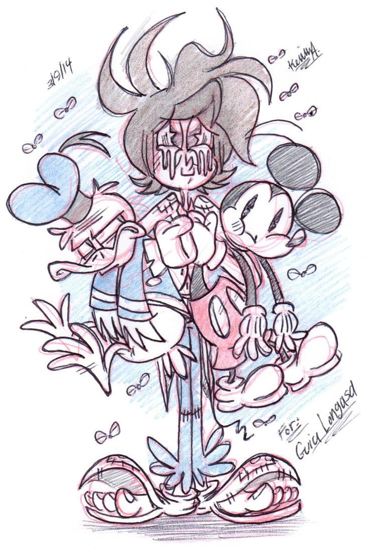 Mice, ducks, and hobos~! by EeyorbStudios