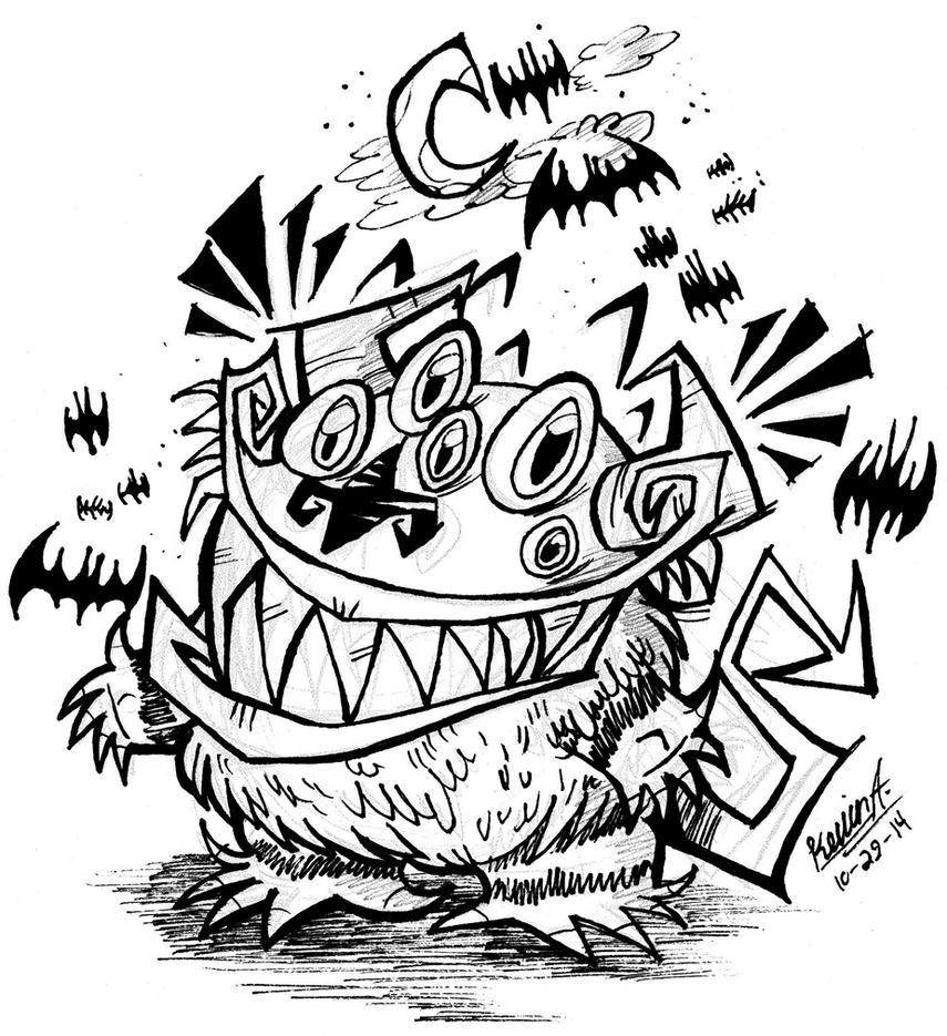 Bug-A-Boo by EeyorbStudios