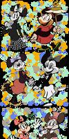 Disneyland's Minnie Mouse