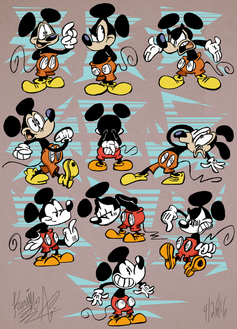 Mickey Mouse by EeyorbStudios
