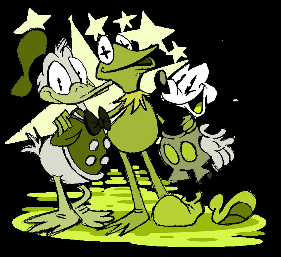 Happy Birthday Mr. the Frog! by EeyorbStudios