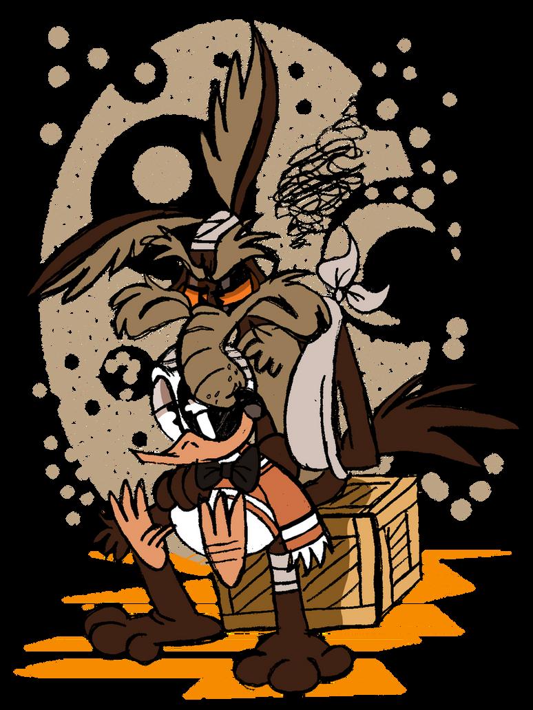 Wile E. Coyote by EeyorbStudios