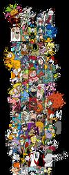 Favorite Characters Meme...COMPLETED! by EeyorbStudios