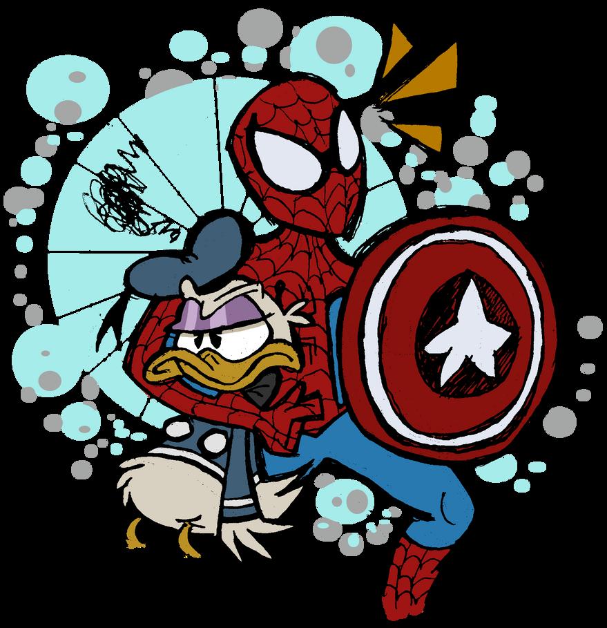 Look out! He is Spider-Maaaaaaan by EeyorbStudios