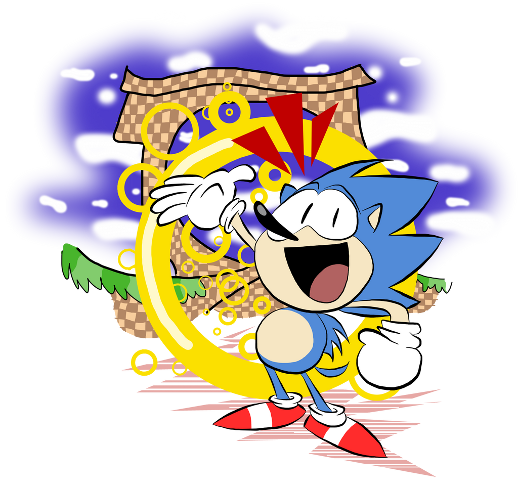 The Hedgehog goin Mickey Mouse on us by EeyorbStudios