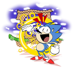 The Hedgehog goin Mickey Mouse on us