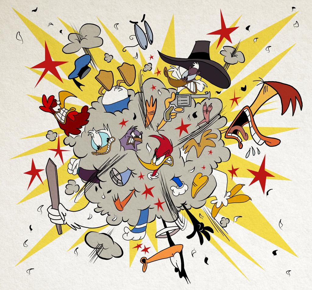 Battle of the Birds by EeyorbStudios