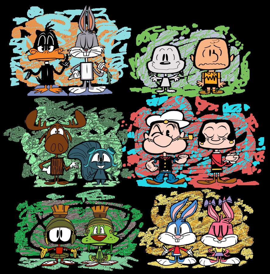 Cartoon Classics Vynl. by EeyorbStudios