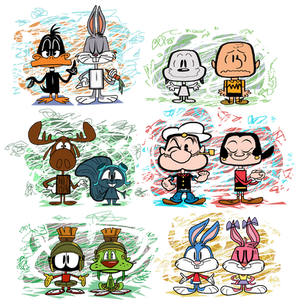 Cartoon Classics Vynl.