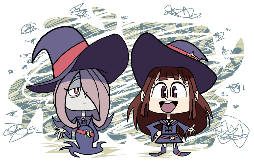 Little Witch Academia Vynl. by EeyorbStudios