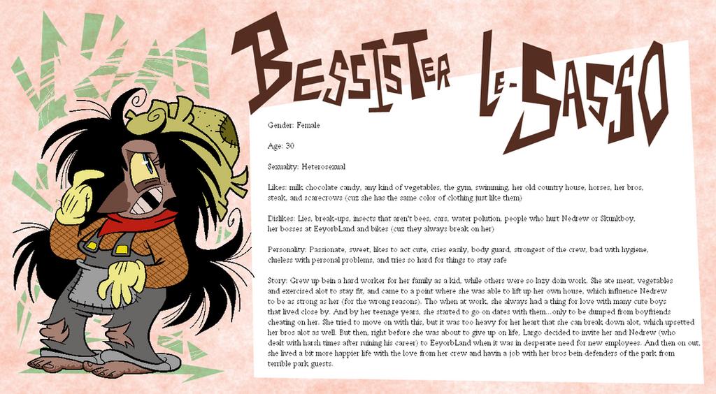Eeyorb Bios: Bessister Le-Sasso by EeyorbStudios