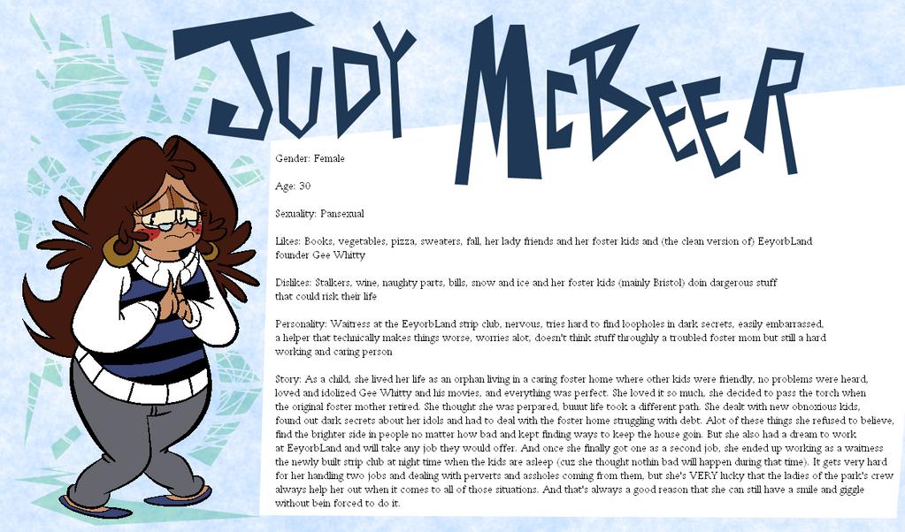 Eeyorb Bios: Judy McBeer by EeyorbStudios
