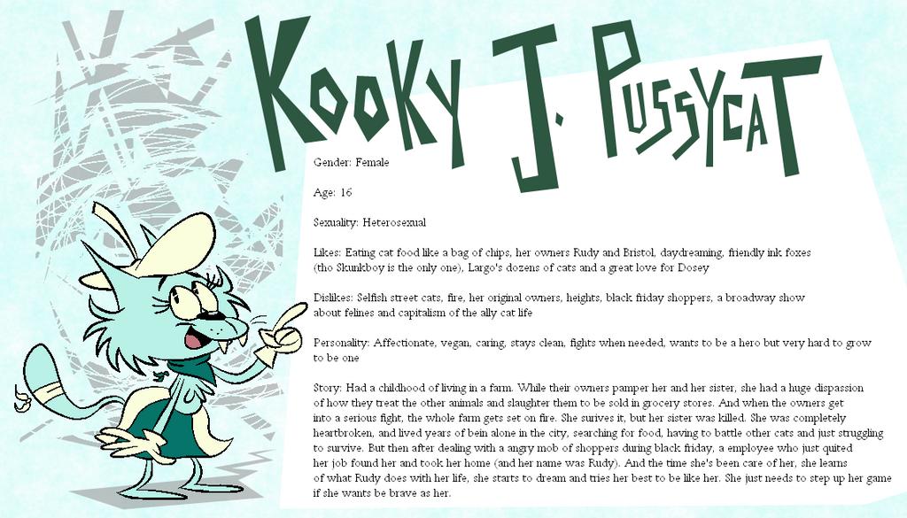 Eeyorb Bios: Kooky J. Pussycat by EeyorbStudios