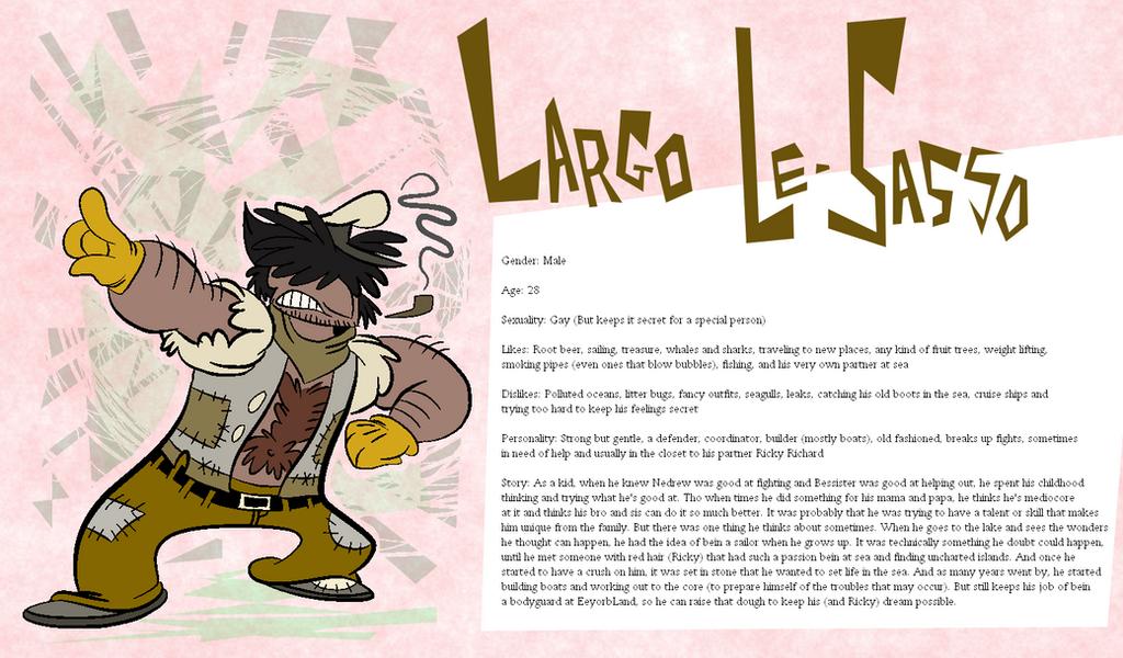 Eeyorb Bios: Largo Le-Sasso by EeyorbStudios