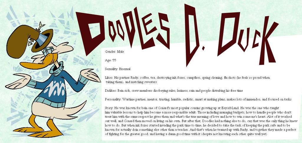 Eeyorb Bios: Doodles D. Duck by EeyorbStudios
