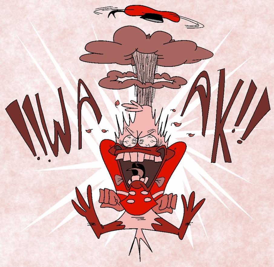 Angry Man by EeyorbStudios