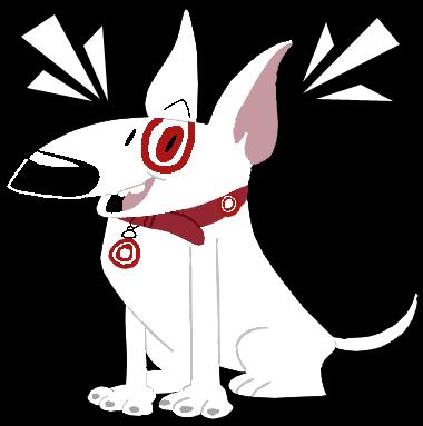 Bullseye the Target Dog by EeyorbStudios