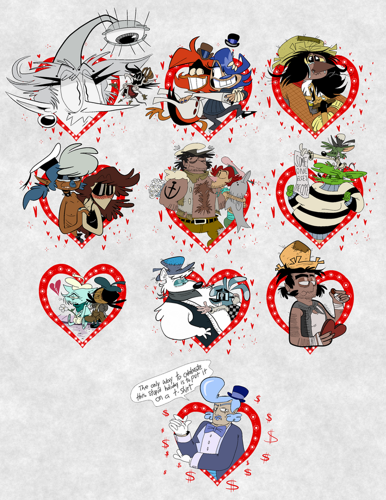 Valentine's Day by EeyorbStudios