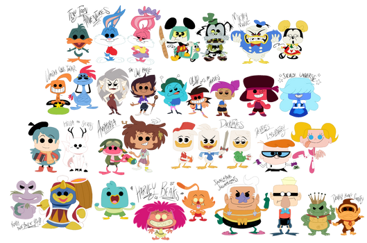 Animation POP Designs by EeyorbStudios