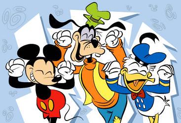 Disney's Caramelldansen by EeyorbStudios