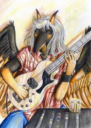 Bassist by Reiterin2501