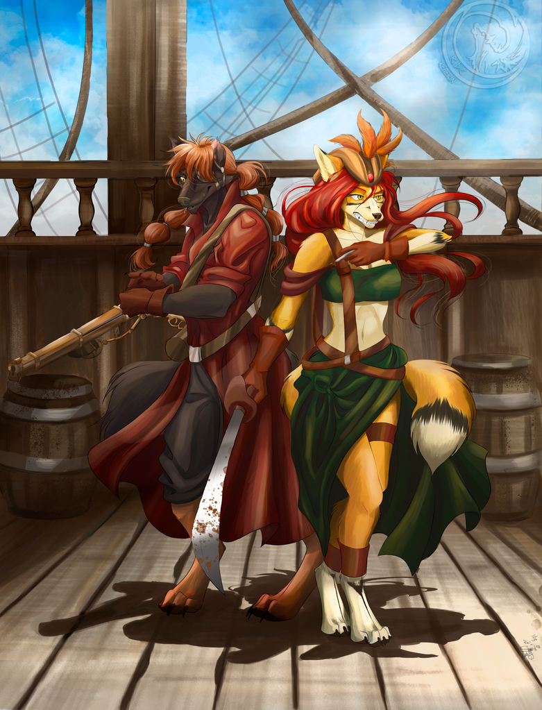 Pirate Duo by Reiterin2501