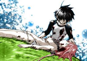 Tomoki and Ikaros by the-Rov