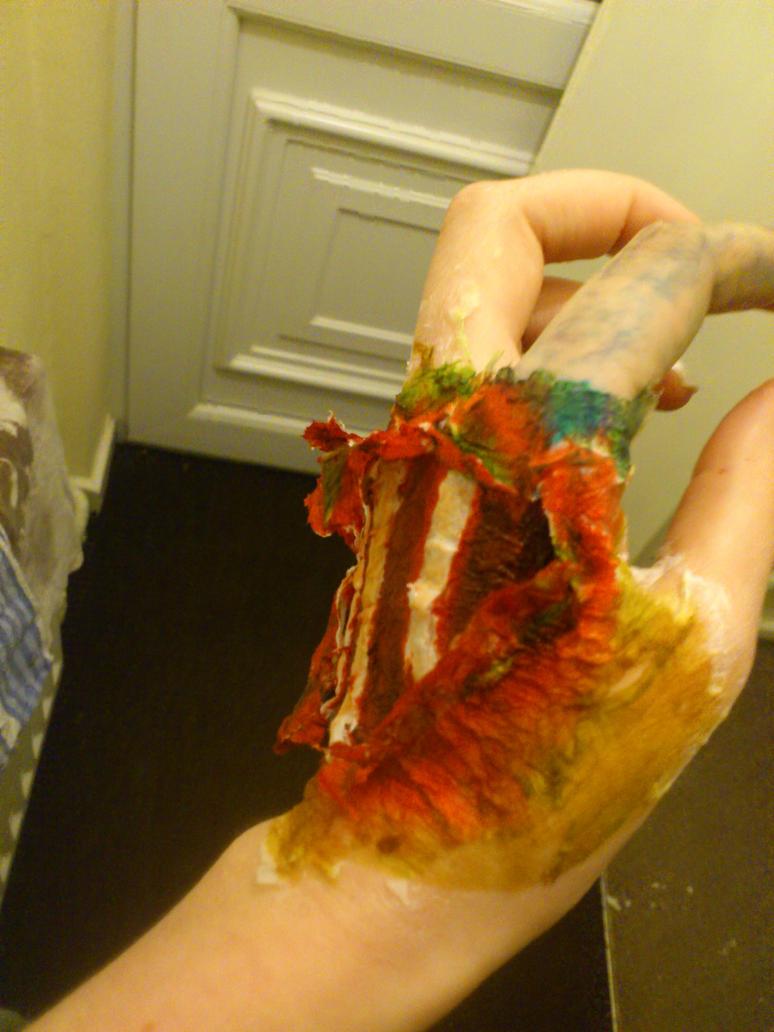 zombie hands left - photo #47